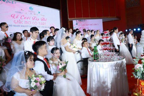 Gần 50 cặp đôi chung niềm hạnh phúc được tổ chức lễ cưới