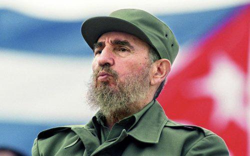 Chủ tịch Cuba Fidel Castro