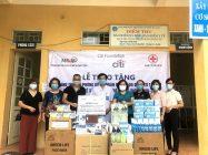 Trung tâm Hỗ trợ phát triển phụ nữ Hà Nội kết nối tiếp nhận tài trợ từ dự án do quỹ CITI tại Việt Nam tài trợ tặng thiết bị y tế cho 40 trạm xá tại ngoại thành Hà Nội